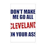 Cleveland Baseball Mini Poster Print
