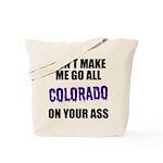 Colorado Baseball Tote Bag