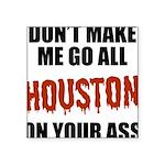 Houston Baseball Square Sticker 3