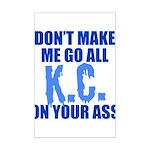 Kansas City Baseball Mini Poster Print
