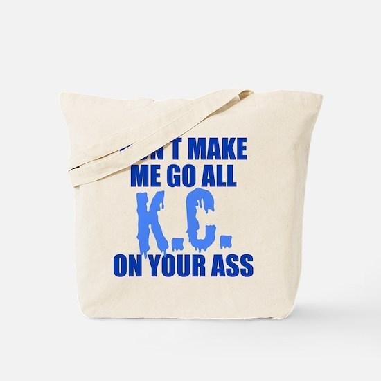 Kansas City Baseball Tote Bag