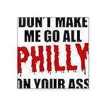 Philadelphia Baseball Square Sticker 3