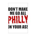 Philadelphia Baseball Mini Poster Print