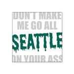 Seattle Baseball Square Sticker 3