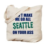 Seattle Baseball Tote Bag