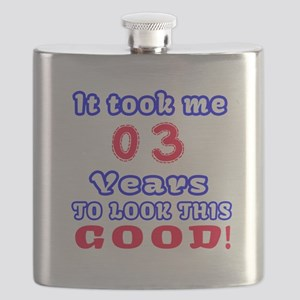 It Took Me 03 Years To Look This Good ! Flask