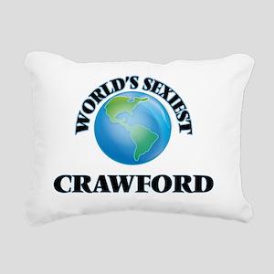 World's Sexiest Crawford Rectangular Canvas Pillow