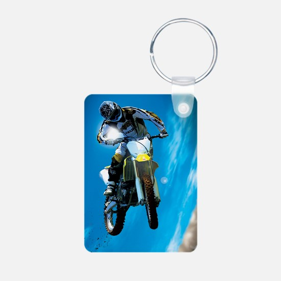 Motocross Side Trick Keychains