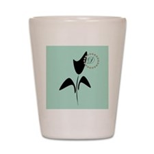 Black Tulip Mint Shot Glass