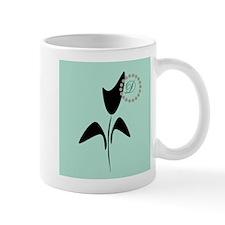 Black Tulip Mint Mug