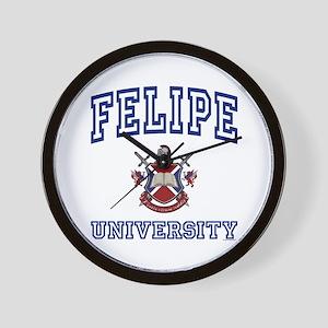 FELIPE University Wall Clock