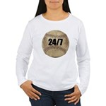 FIN-c-24-7-WonB Women's Long Sleeve T-Shirt