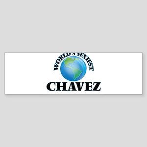 World's Sexiest Chavez Bumper Sticker