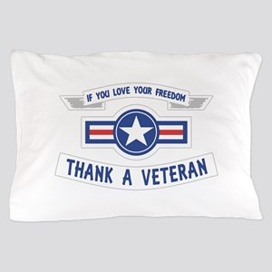 Thank a Veteran Pillow Case