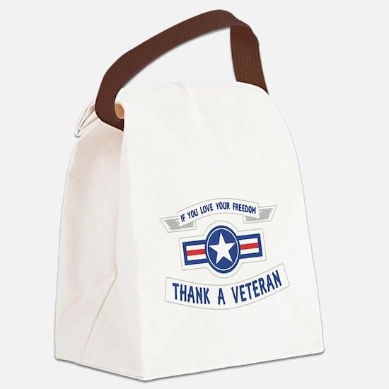 Thank a Veteran Canvas Lunch Bag