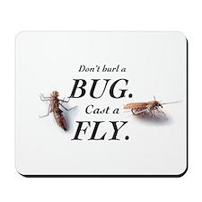 Bug or fly Mousepad