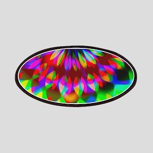 Rainbow Hippie Swirl Patches