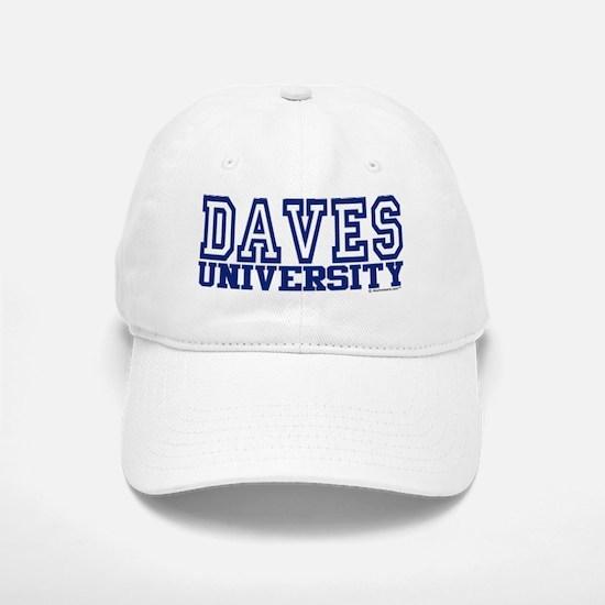 DAVES University Baseball Baseball Cap
