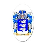 Healy 20x12 Oval Wall Decal