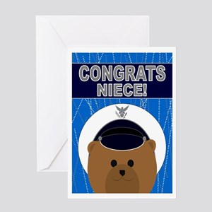 Niece - Air Force Academy Congrats Greeting Card