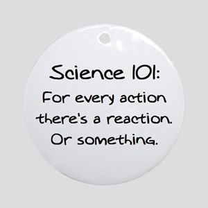 science 101 Ornament (Round)