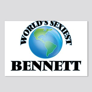 World's Sexiest Bennett Postcards (Package of 8)