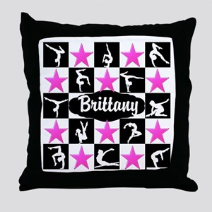 CHAMPION GYMNAST Throw Pillow