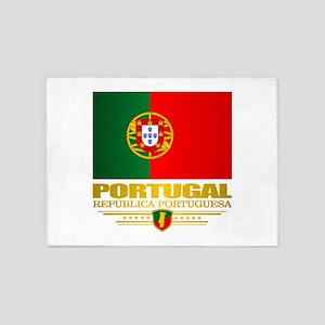 Portugal (v15) 5'x7'Area Rug