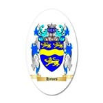Hawes 20x12 Oval Wall Decal