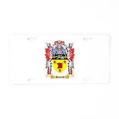 Haward Aluminum License Plate