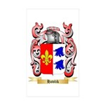 Havlik Sticker (Rectangle 50 pk)