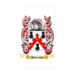 Haverson Sticker (Rectangle 50 pk)