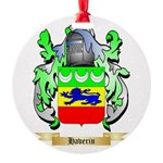 Haverin Round Ornament