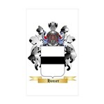 Hauzer Sticker (Rectangle 50 pk)