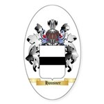 Hausner Sticker (Oval 50 pk)