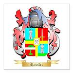 Hausler Square Car Magnet 3