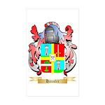 Hausler Sticker (Rectangle 50 pk)