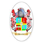 Hausler Sticker (Oval 50 pk)