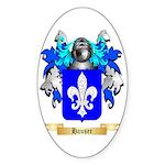 Hauser Sticker (Oval 50 pk)