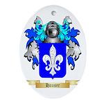 Hauser Ornament (Oval)