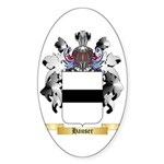 Hauser 2 Sticker (Oval 50 pk)