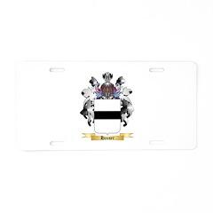 Hauser 2 Aluminum License Plate