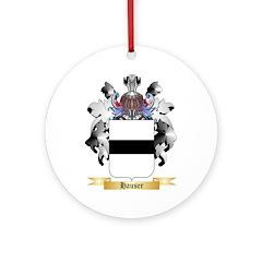 Hauser 2 Ornament (Round)