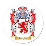 Haughey Round Car Magnet