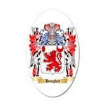 Haughey 35x21 Oval Wall Decal