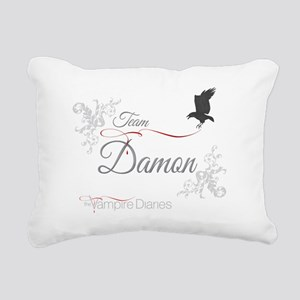 TVD Team Damon Raven Rectangular Canvas Pillow