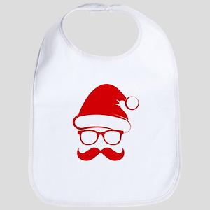 Hipster Christmas Bib