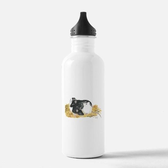 Rats cuddling Water Bottle