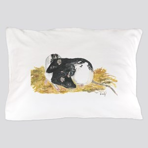 Rats cuddling Pillow Case