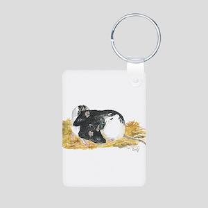 Rats cuddling Keychains